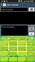 Screenshot of GO Keyboard Green Nature