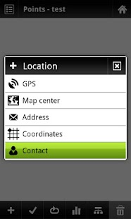 Locus - add-on Contacts - screenshot thumbnail