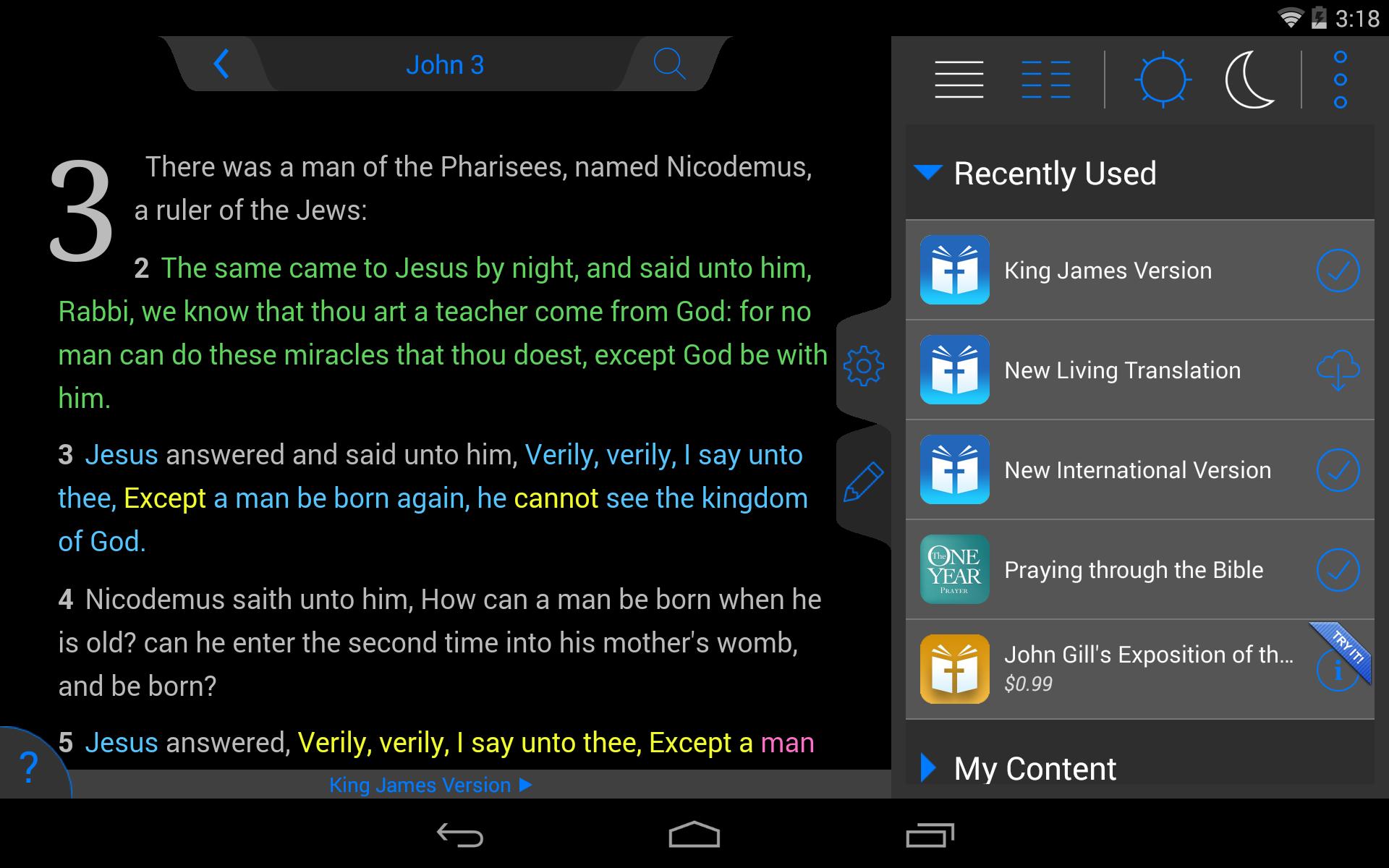 NLT Bible screenshot #21