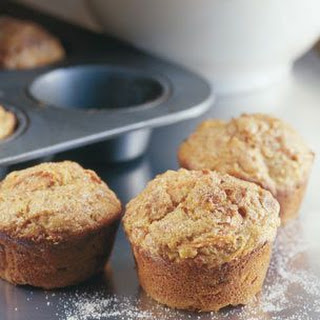 Carrot-Apple-Nut Muffins.