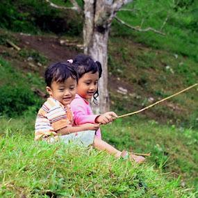 mancing by Firdian Rahmatulah - Babies & Children Children Candids