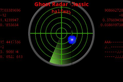 Ghost Radar®: CLASSIC- screenshot