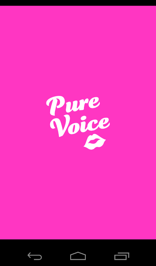 PURE VOICE- screenshot
