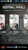 Screenshot of SI Football Rivals