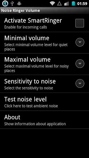 Noise Ringer Volume