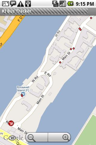 Roosevelt Island Bus Tracker - screenshot