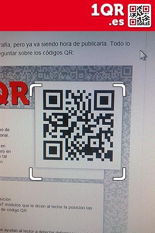 1QR - free QR code scanner- screenshot