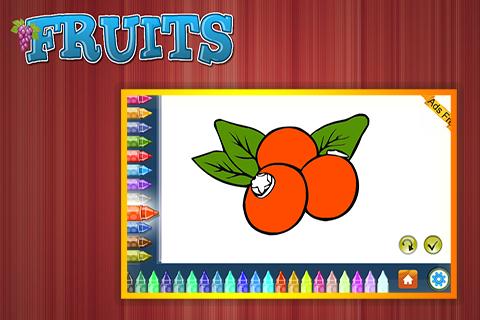 Coloring Book Fruits 1.5.0 screenshots 4
