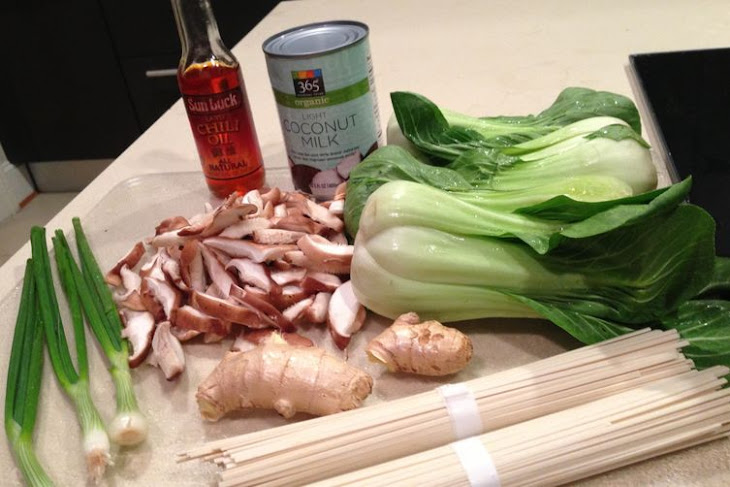 The Ultimate Easy Udon with Shiitake and Bok Choy