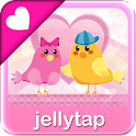 ♥ Love Birds Theme SMS ♥ icon