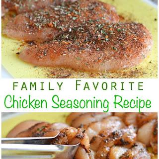 Chicken Seasoning.
