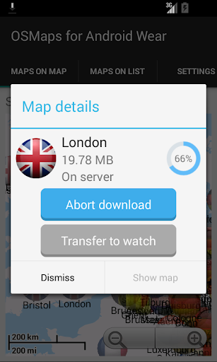 OSM Offline Maps Android Wear by TPGTeam (Google Play, United States