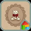 Vintage bear Dodol Theme