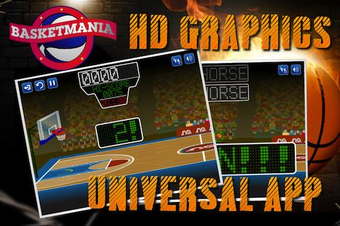 Basketmania: Basketball game - screenshot