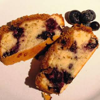 Sugar Free Blueberry Coffee Cake.