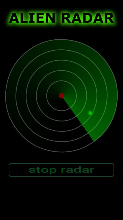 Alien Radar - screenshot