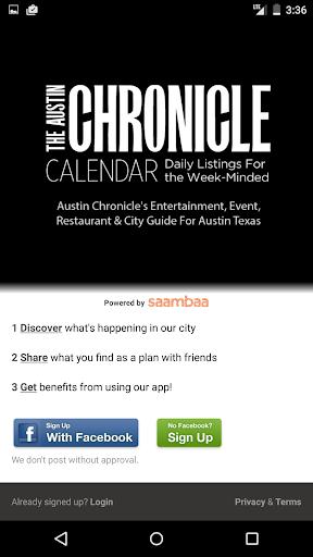 AC Calendar - Austin Events