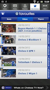 Official Chelsea FC - screenshot thumbnail