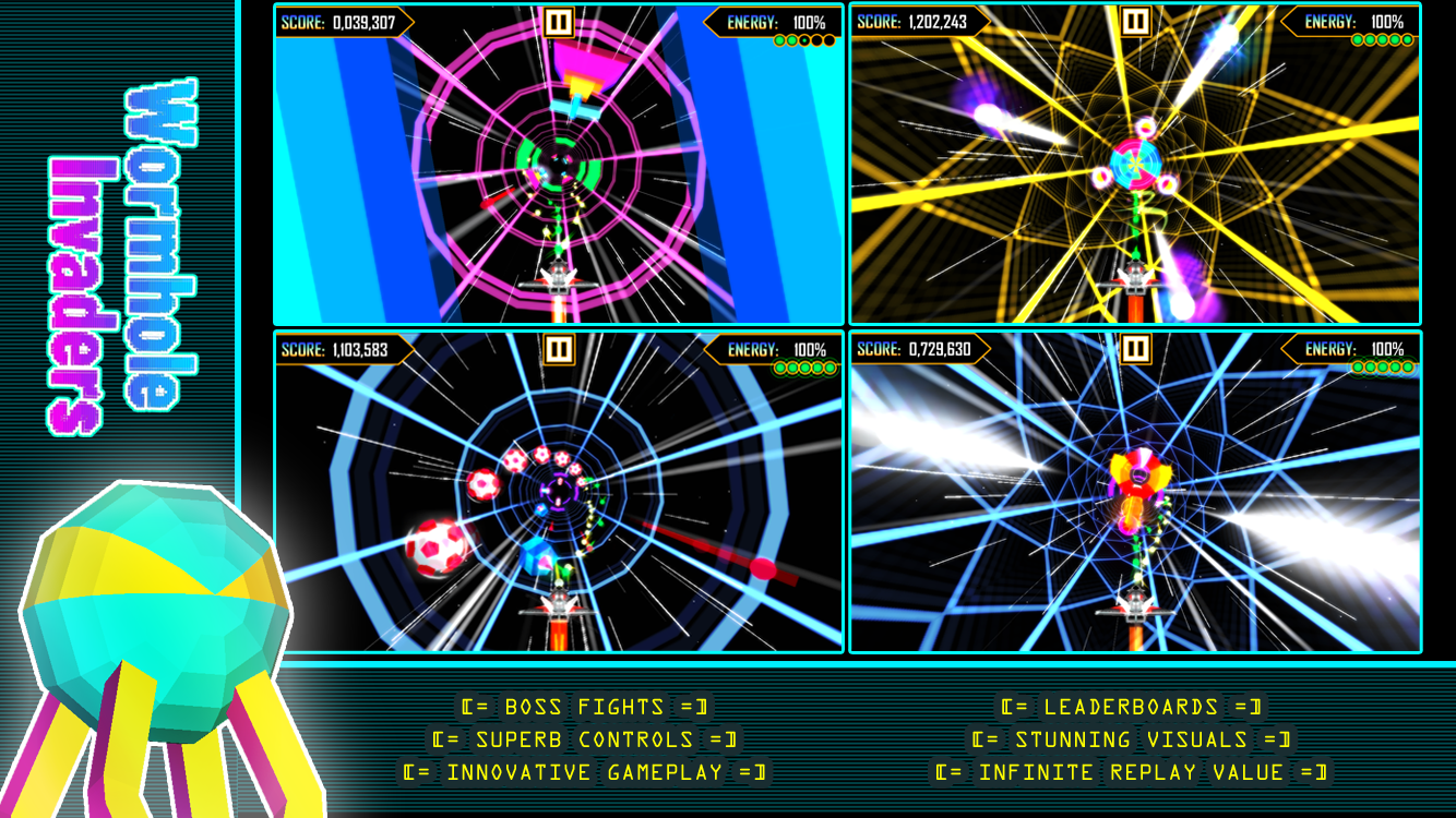 Wormhole Invaders- screenshot