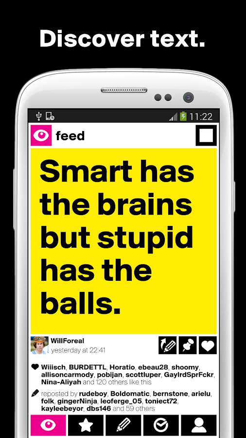 Boldomatic - Everything Text - screenshot