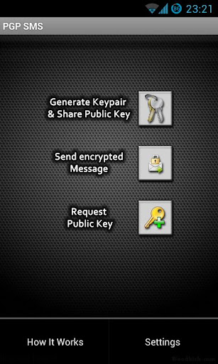 Android Apps: PGP SMS