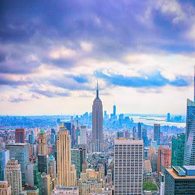 by Vikram Mehta - City,  Street & Park  Skylines ( skyline, buildings, skylines, new york,  )