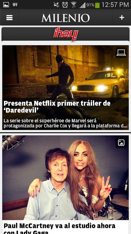 Milenio - screenshot