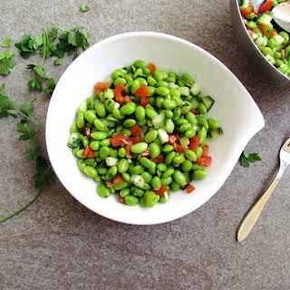 Cumin-spiced Edamame Salad.