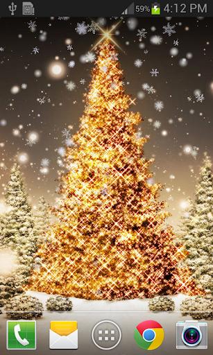 Christmas Snow Live Wallpaper 1.1.3 screenshots 3