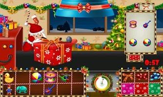 Screenshot of Santa Rush
