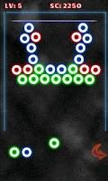 Screenshot of Glow Bubbles Shoot