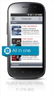Newscron - all news in one app - screenshot thumbnail
