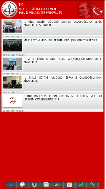 Bolu İl MEM - screenshot