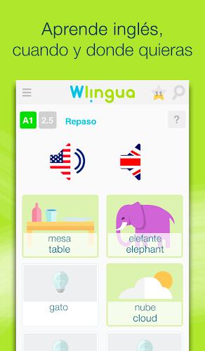 Aprender inglés con Wlingua Android App Screenshot