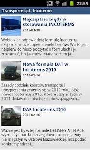 TRANSPORTET.PL- screenshot thumbnail