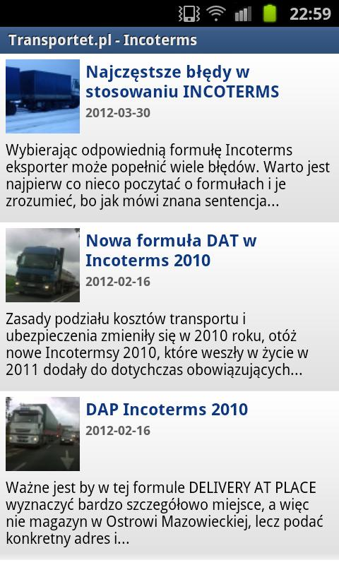 TRANSPORTET.PL - screenshot