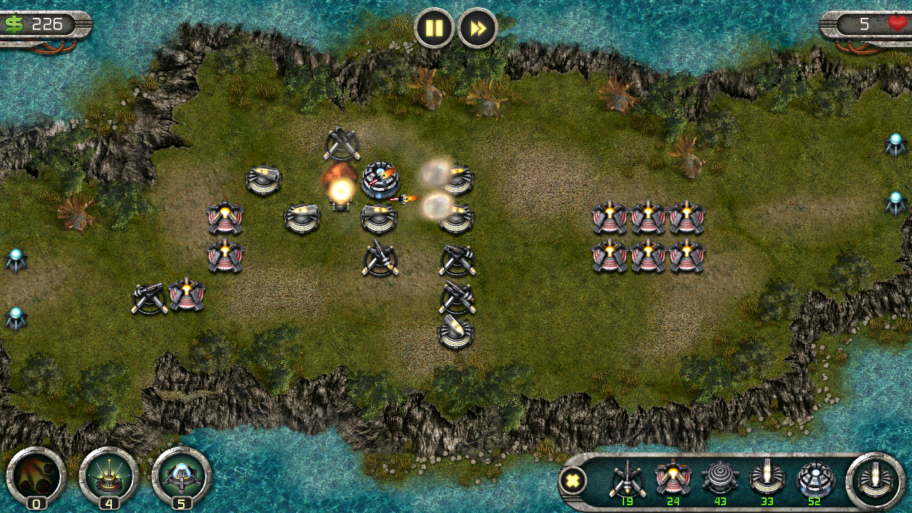 Fierce Towers - tower defense- screenshot