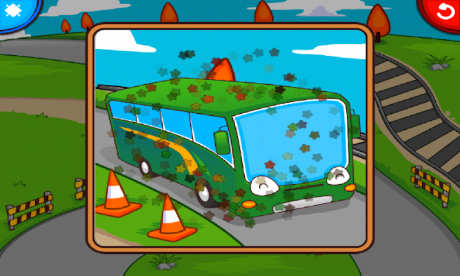 Marbel Puzzle (Transportation) - screenshot