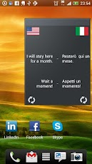 Learn Italian Widget Android Education