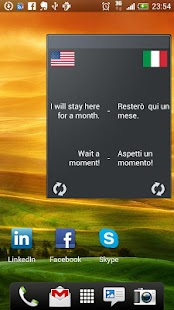 Learn Italian Widget - screenshot thumbnail