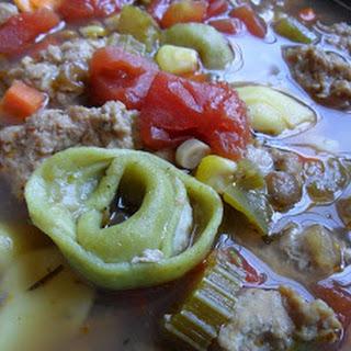 Tortellini Lentil Soup
