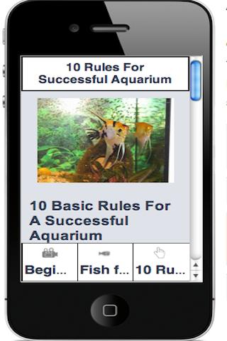 TROPICAL FISH GUIDE (Free) - screenshot