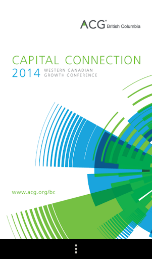 ACG BC Capital Connection 2014
