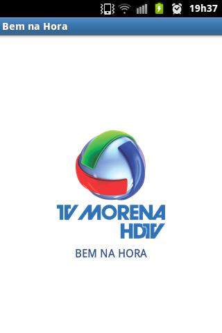 Bem na Hora - Tv Morena