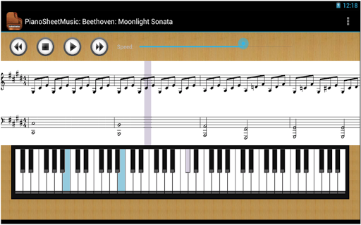 無料音乐Appのピアノの楽譜|記事Game