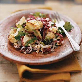 Roasted Cauliflower and Radicchio Salad