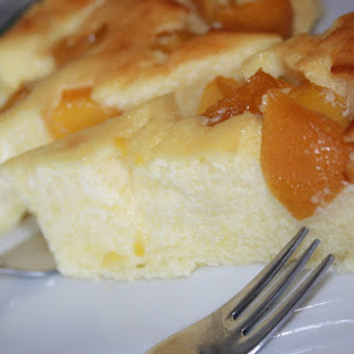 Cheese and Peach Tart