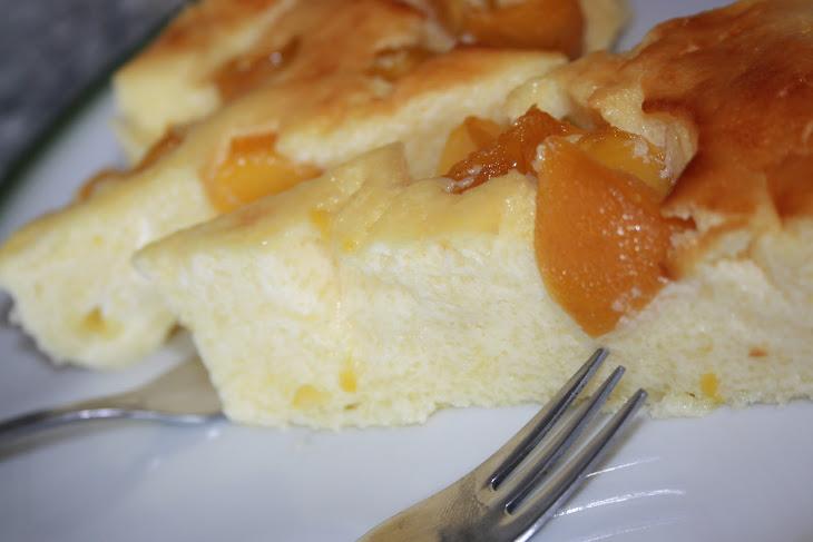 Cheese and Peach Tart Recipe