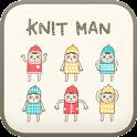 knit man go locker theme icon