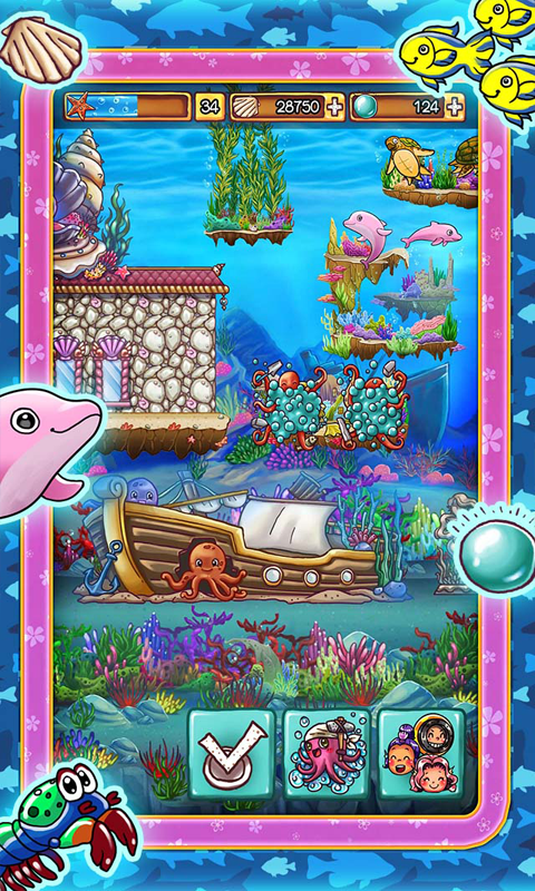 Ocean Aquarium Pocket Island- screenshot